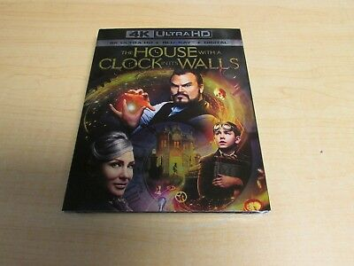 The House with a Clock in its Walls 4K Ultra HD Blu Ray Digital New Slipcover