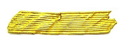 2200 - 1200 BC Early to Middle Bronze Age Gold Headband Bracelet Ribbon Strip