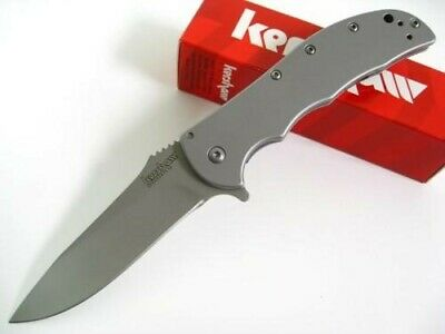 Kershaw 3655 Stainless Steel Volt SS Assisted Straight Folding Pocket Knife