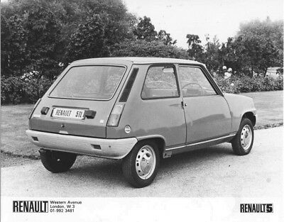 1978 Renault 5 TL ORIGINAL Factory Photo oac1258
