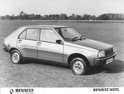 1981 Renault 14 GTL ORIGINAL Factory Photo oac1274