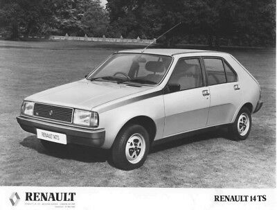 1981 Renault 14 TS ORIGINAL Factory Photo oac1276