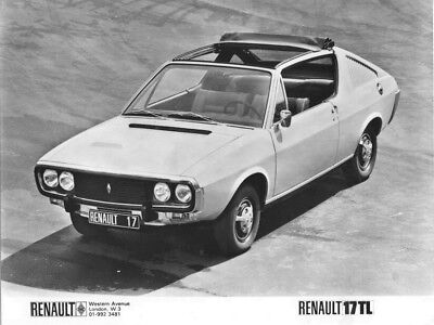 1978 Renault 17 TL ORIGINAL Factory Photo oac1292