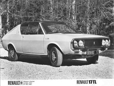 1978 Renault 17 TL ORIGINAL Factory Photo oac1294