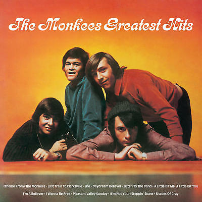 The Monkees GREATEST HITS Best Of LIMITED SYEOR 2019 New Orange Colored Vinyl LP