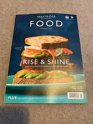 WAITROSE Food Magazine January 2019 NEW.