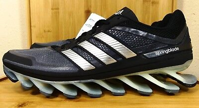 86c9b0c46745 35 New Adidas Springblade Black Running Shoes G66648 Men s Sizes 10.5-13  Athletic Shoes