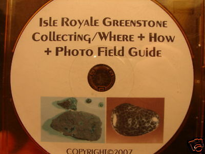 Isle Royale Greenstone Collecting Where And How Chlorastrolite PDF Download