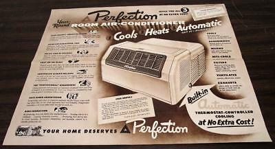 VINTAGE 1950'S ELECTREND ELECTRIC AIR HEATING SYSTEM DEALER