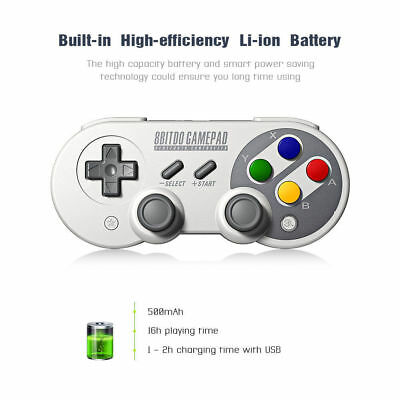 8Bitdo SF30 sn 30 Pro Gamepad Controller for Nintendo Switch Windows Android ios