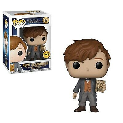 Funko - POP Movies: Fantastic Beasts 2 - Newt #14 LIMITED CHASE EDITION