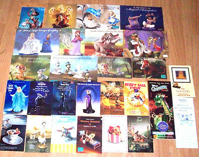 Walt Disney Classics Collection, Collectors Society, 25 Advertisment Cards +