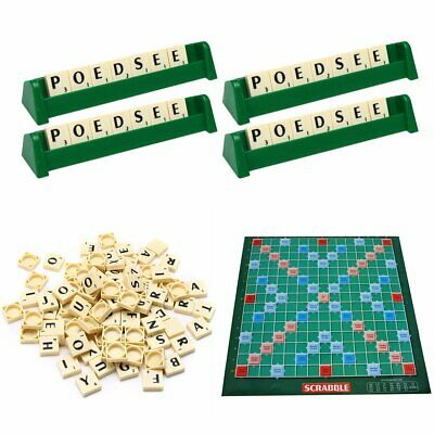 Scrabble Board Game Family Kids Adult Educational Toys Puzzle Game EBZ