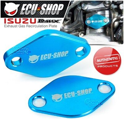 New ECU-SHOP EGR Exhaust Gas Valve Blanking Plate Cover ISUZU DMAX D-MAX 07-09