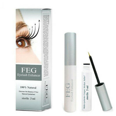 Feg Eyelash Enhancer Rapid Fast Growth Serum Liquid 100% Oringinal New