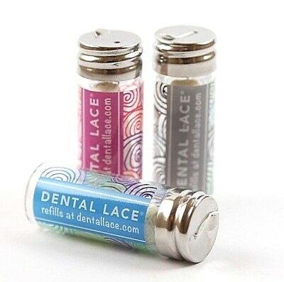 NEW Dental Floss | Refillable Canister Dental Lace | Biodegradable Plastic Free