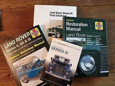 Land Rover Series Manuali