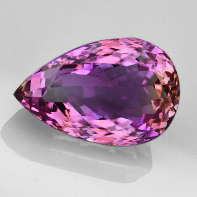 VVS 14.4Ct 100% Natural Brillant Cut Purple & Yellow Ametrine QAEd535