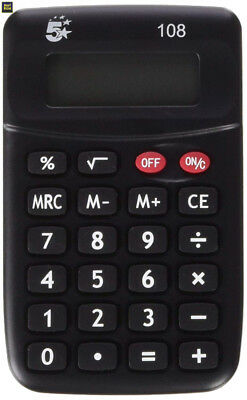 Calculatrice de poche 108- 5 Star - 960104