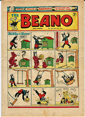 BEANO # 470 July 21st 1951 the comic magazine
