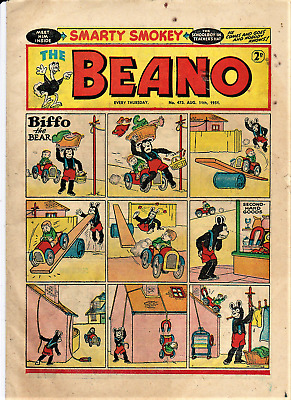 BEANO # 473 August 11th 1951 the comic magazine