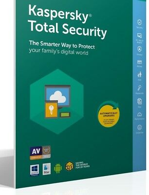 Kaspersky Total Security 1PC 6 months Multi-Device 2019 Worldwide Region Free