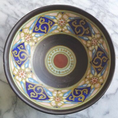 """Vintage """"Marion"""" Zuid-Holland Gouda Colorful Small Bowl"""