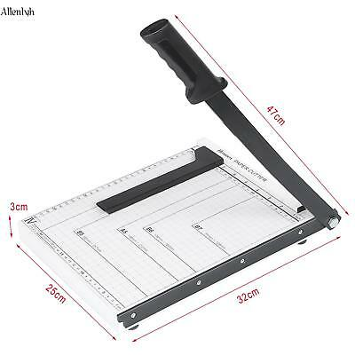 Heavy Duty A4Paper Cutter Metal Base Trimmers Scrapbooking Guillotine Blade ALYH