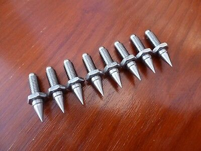M6 Speaker stand spikes (SET OF 8) STAINLESS STEEL