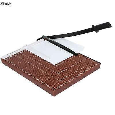 Office Paper Cutter A2-B7 12 Sheets Trimmers Scrapbooking Guillotine Blade ALYH