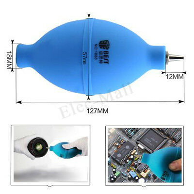 Rubber Bulb Air Pump Dust Blower Cleaner for Camera Lens Phone Tablet Computer