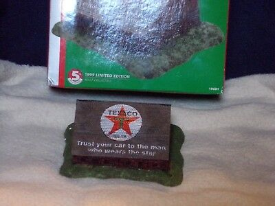 """Collectible Texaco Limited Edition """"western Barn""""---Die Cast-----New"""