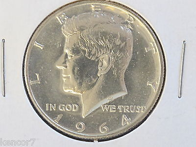 1964-P Kennedy Half Dollar 90% Silver Proof Coin D8219