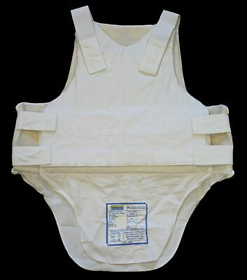 Ex Police White Highmark Covert Bulletproof Body Armour Stab Vest Security AS-F