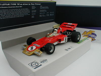 "Scalextric C3657a - Team Lotus 72 No. 8 "" Tony Timmer "" 1:32 ab 1.- Euro Start"