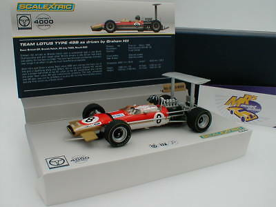 "Scalextric C3543a - Team Lotus Type 49B No. 8 "" Graham Hill "" 1:32 ab 1.- Euro"
