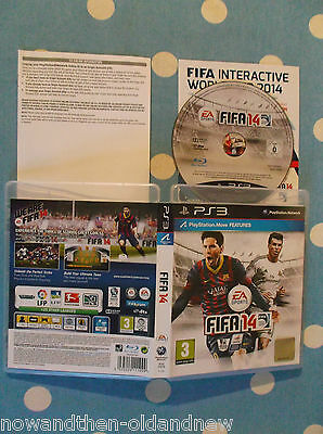 Fifa 14   ~ Playstation Ps3 ~ Complete ~ Uk Seller ~Ea Sports~Fast Free Postage