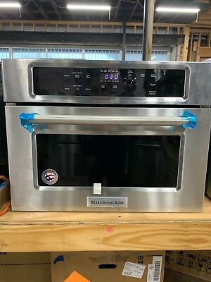 ... Kitchenaid 24 Stainless Steel Built In Microwave Oven Kmbs104ess ...