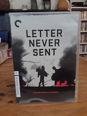 Letter Never Sent Criterion DVD Perfect Condition