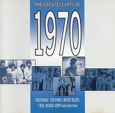 The Greatest Hits Of 1970 - Various Artists (CD 1991) Original CD