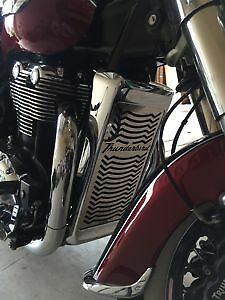 Triumph Thunderbird 1600 1700 Stainless Steel Radiator Guard, Grill by Beowulf