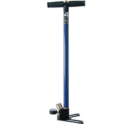 New color! 4 Stage 270 Bar Hand Pump FX - Air Cylinder Std DIN Blue
