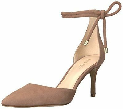 5ab2a4300 NEW - NINE WEST Women's 'NWMILLENIO' Tan SUEDE HIGH HEELS - US 9 M ...