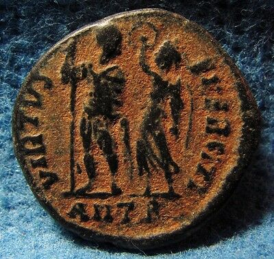 Ancient Roman Imperial bronze coin of Flavius Arcadius 383-408AD.