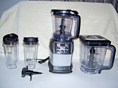 Nutri Ninja BL494 1200W Kitchen System Blender with Auto-iQ Boost