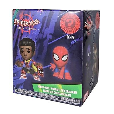 Funko Mystery Mini: Spider-Man into the Spider-Verse Bobble-Head Item #34757