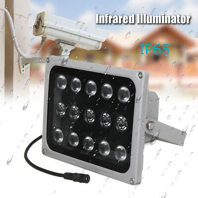 6-15 LED Infrared Illuminator Light Night Vision Security CCTV Security  new