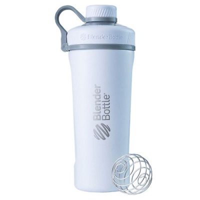Blender Bottle Radian Insulated Stainless Steel Shaker Bottle, Matte White