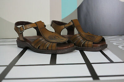 70er Herren Sandale Indianer Schuhe 39 OvP TRUE VINTAGE 70s slippers shoes OvP