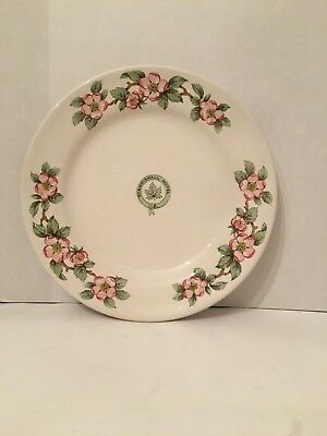 1940's Standish Hall Hotel Grindley Hotel Ware Apple Blossom China Dinner Plate